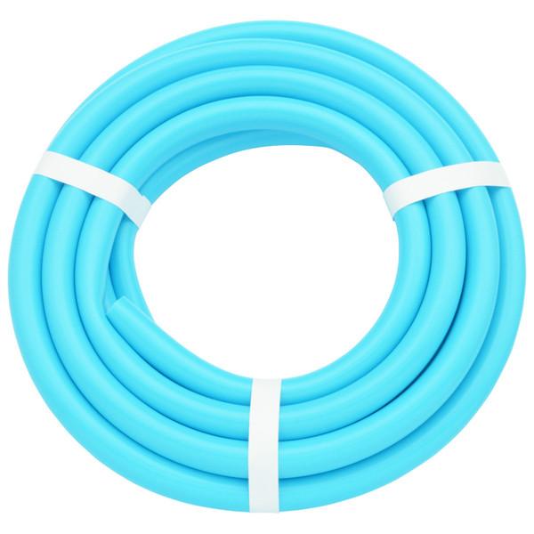 ガオナ 二槽式洗濯機用 給水ホース 5.0m (長さ調節可能 パステルブルー) GA-LC019 (直送品)