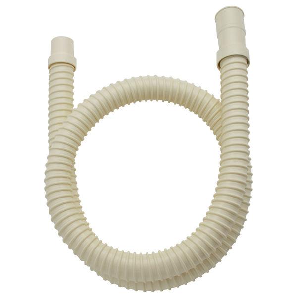 ガオナ 洗濯機用 排水ホース 延長用 1.5m アイボリー GA-LD002 (直送品)