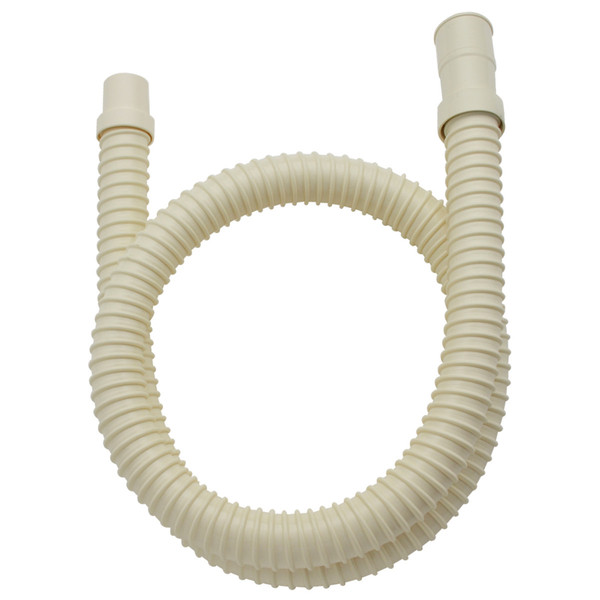 ガオナ 洗濯機用 排水ホース 延長用 2.0m アイボリー GA-LD003 (直送品)