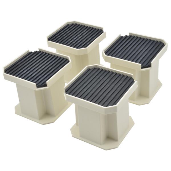 これカモ 洗濯機用 かさ上げ台 (振動軽減 掃除・メンテナンスに最適 置くだけ簡単) GA-LF001 (直送品)