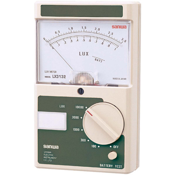 アナログ照度計 LX3132 三和電気計器 (直送品)
