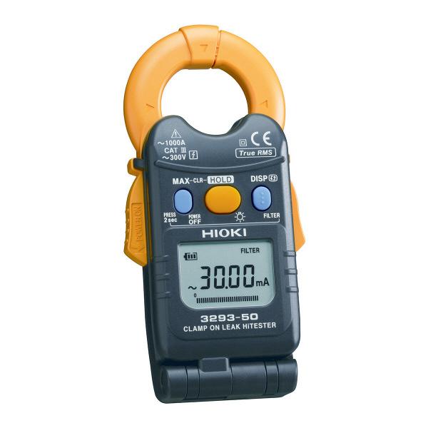HIOKI クランプオンハイテスタ 交流 実効値方式 3293-50 日置電機 (直送品)