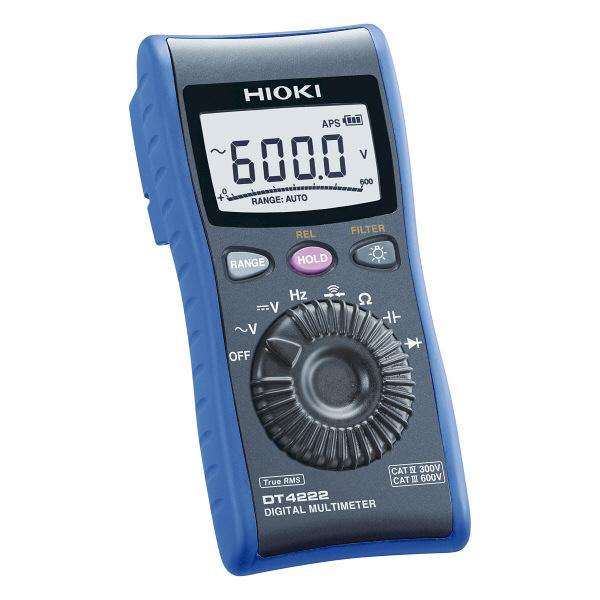HIOKI デジタルマルチメータ DT4222 日置電機 (直送品)