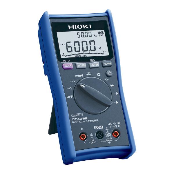 HIOKI デジタルマルチメータ DT4252 日置電機 (直送品)