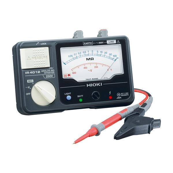 HIOKI アナログメグオームハイテスタ IR4012-10 日置電機 (直送品)