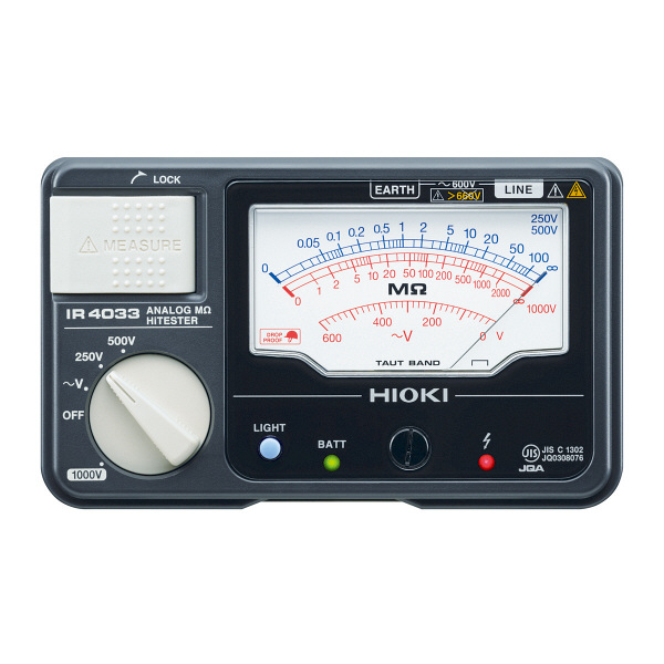 HIOKI アナログメグオームハイテスタ IR4033-11 日置電機 (直送品)