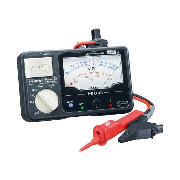 HIOKI アナログメグオームハイテスタ IR4041-11 日置電機 (直送品)