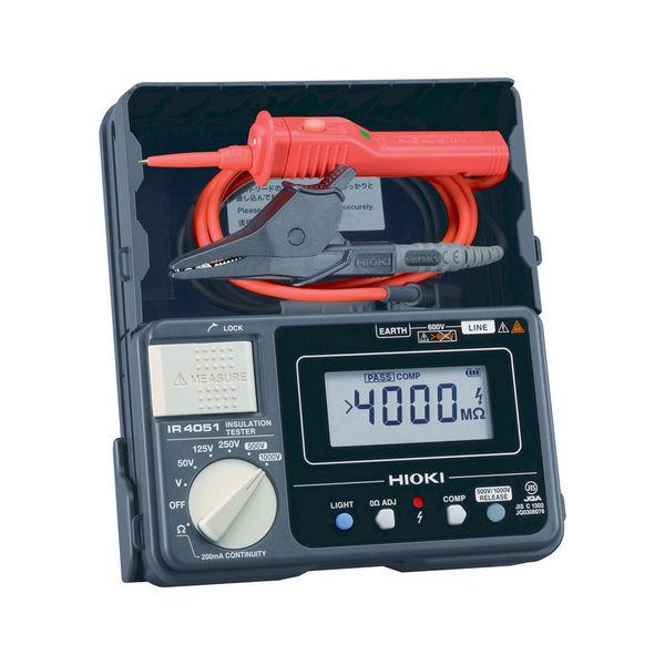 HIOKI 絶縁抵抗計/5レンジ・デジタルタイプ IR4051-11 日置電機 (直送品)