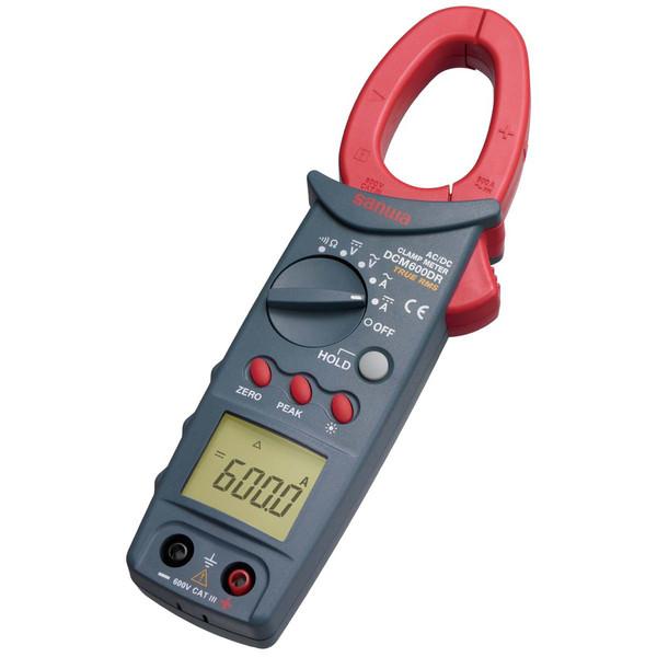 SANWA DC/AC両用デジタルクランプメータ 実効値方式 DCM600DR 三和電気計器 (直送品)