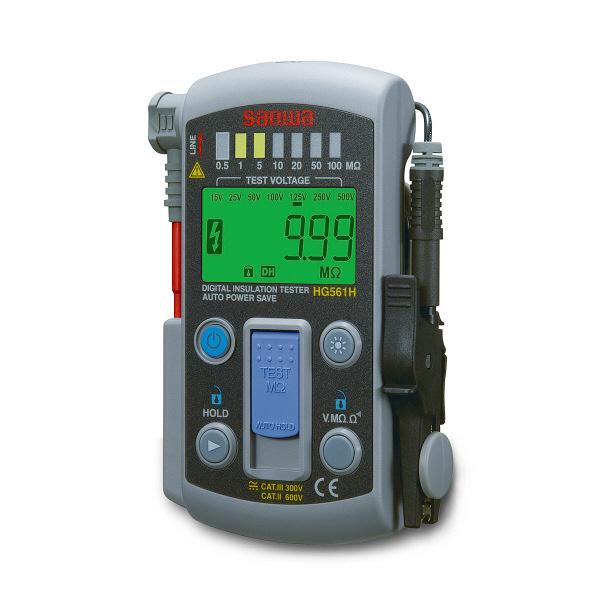 スマートスタイル7レンジ式デジタル絶縁抵抗計 HG561H 三和電気計器 (直送品)