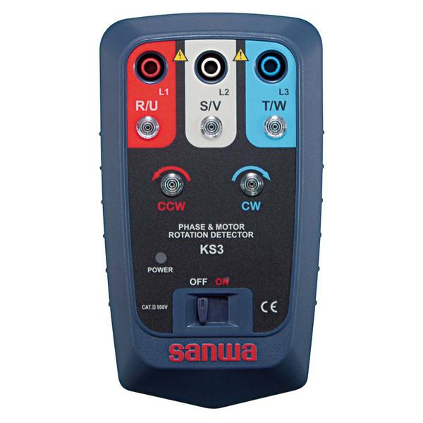 接触式モーター検相器 KS3 三和電気計器 (直送品)
