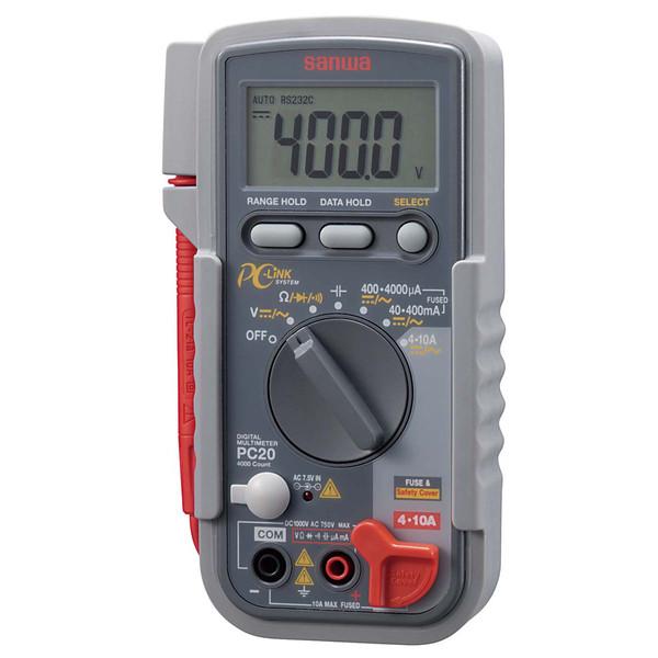 デジタルマルチメータ PC接続型 PC20 三和電気計器 (直送品)