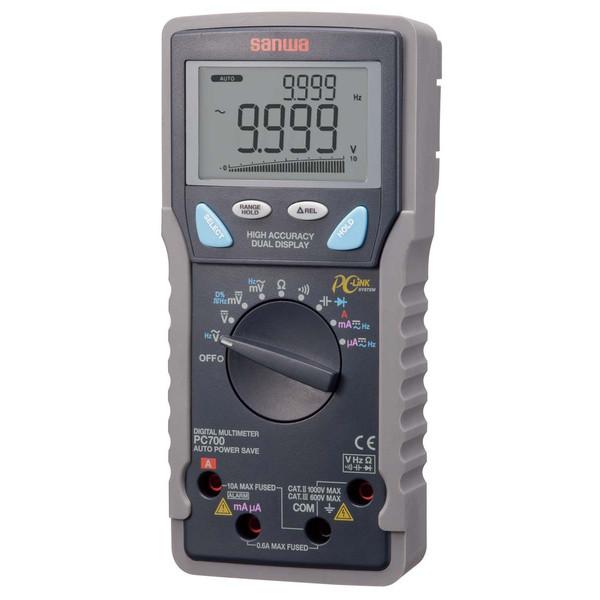 デジタルマルチメータ PC接続型 PC700 三和電気計器 (直送品)