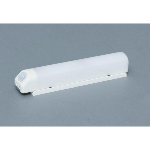 アイリスオーヤマ 乾電池式屋内センサーライト ウォールタイプ 電球色 シーリングライト BSL40WL-W (直送品)