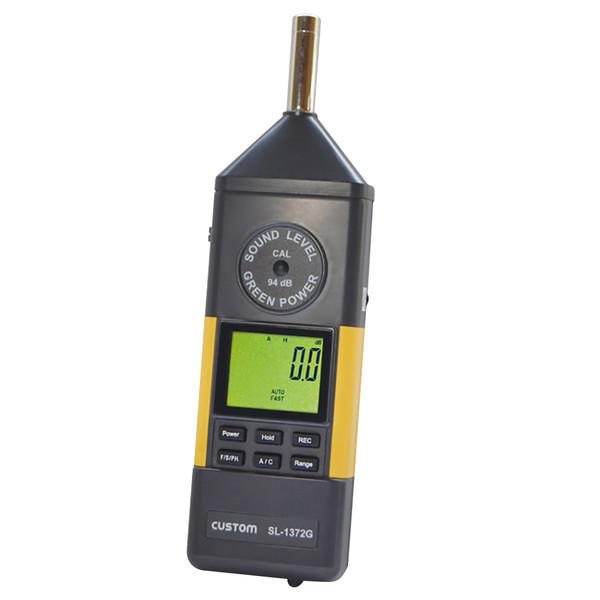 カスタム デジタル騒音計 SL-1372G (直送品)