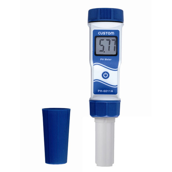 カスタム 防水 pH計 PH-6011A (直送品)