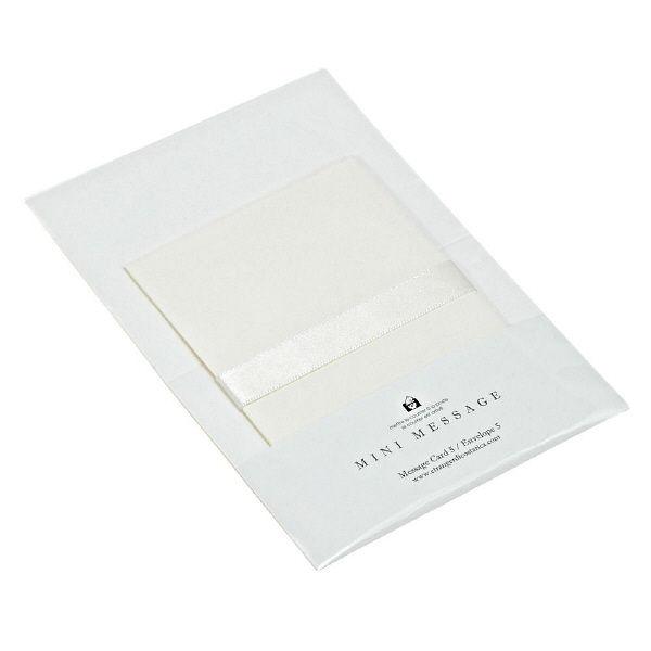 エトランジェ・ディ・コスタリカ ミニカードセット[ベージュ]白 MMCーBー01 10個 (直送品)