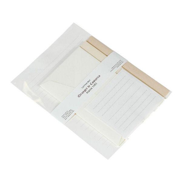 エトランジェ・ディ・コスタリカ A5レターセット[Trois]IVOIREー1 LT2ーT2ー01 5冊 (直送品)