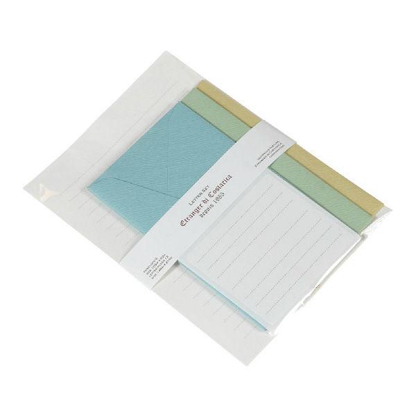 レターセットA5 3色入 5冊(直送品)