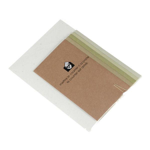 レターセットA5 カーキ 5冊(直送品)