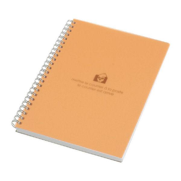 エトランジェ・ディ・コスタリカ A5リングノート[TRP]オレンジ SNYーA5ー64 5冊 (直送品)