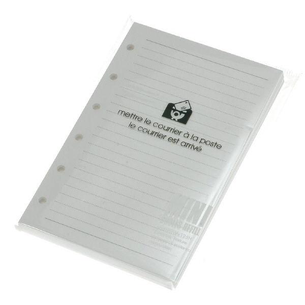 エトランジェ・ディ・コスタリカ ミニレフィルメモホワイト SREFーDー01 10冊 (直送品)