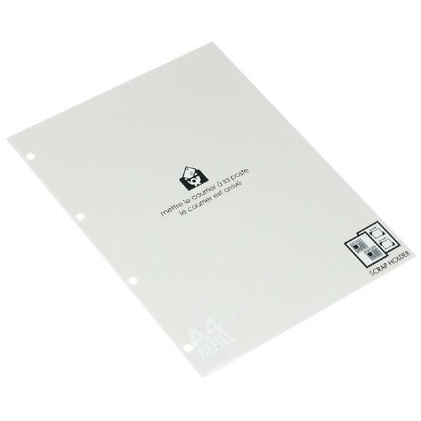 エトランジェ・ディ・コスタリカ A4スクラップ厚口台紙[BASIS]クリーム A4RFーE2ー01 5冊 (直送品)