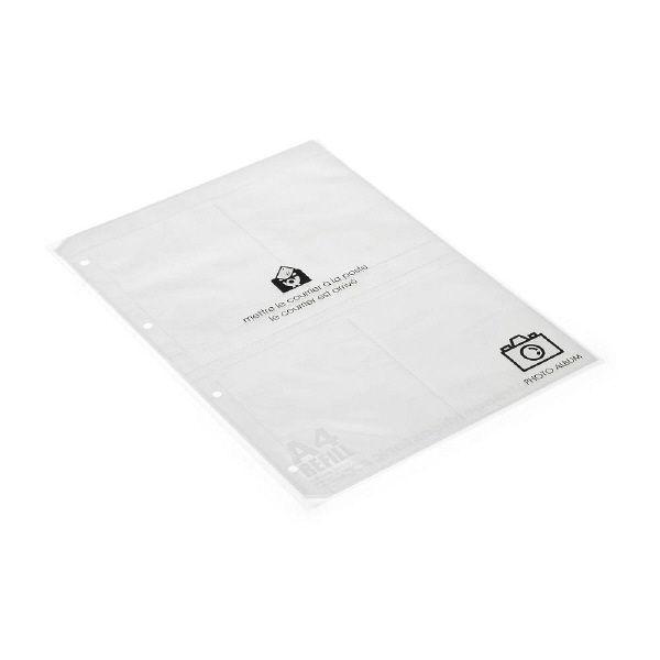 エトランジェ・ディ・コスタリカ A4レフィルフォトポケット[BASIS]クリア A4RFーKー01 5冊 (直送品)