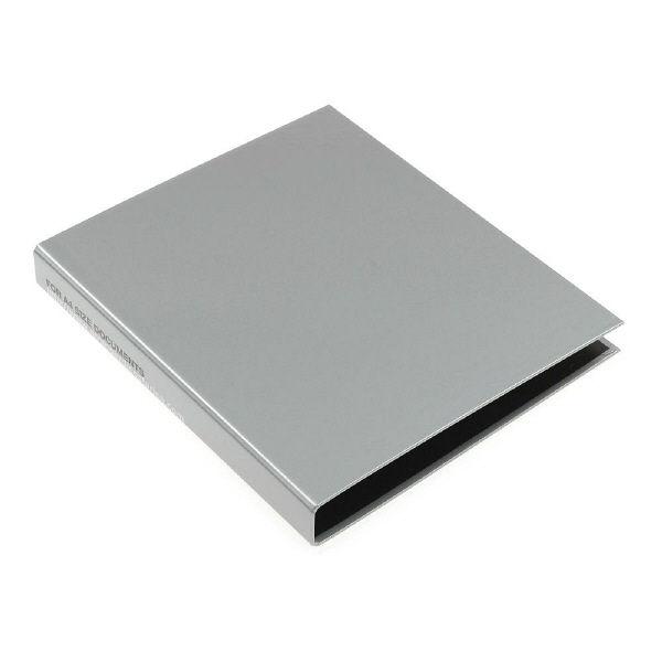エトランジェ・ディ・コスタリカ A4 2Hファイル[SOLID2]シルバー SLD2ー02ー91 4冊 (直送品)