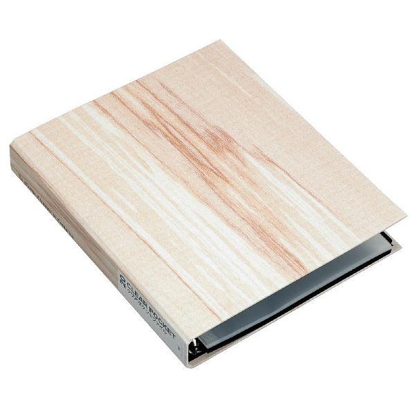 エトランジェ・ディ・コスタリカ A4ポケットファイル[WOOD]アイボリー WOODー18ー01 3冊 (直送品)