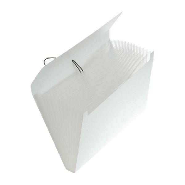 エトランジェ・ディ・コスタリカ エキスパンディングファイル[SOLID]ホワイト SLDー97ー01 2冊 (直送品)