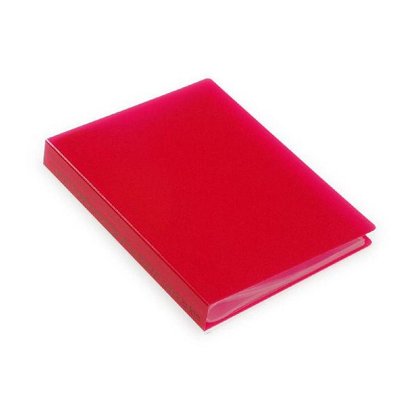 エトランジェ・ディ・コスタリカ ポストカードファイル[TRP]レッド TRPー18ー02 6冊 (直送品)