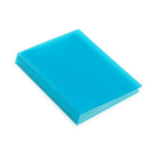 エトランジェ・ディ・コスタリカ ポストカードファイル[TRP]Lブルー TRPー18ー07 6冊 (直送品)