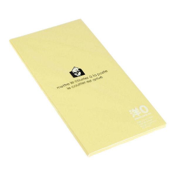 エトランジェ・ディ・コスタリカ 洋長3 封筒 [P] ヤマブキ ENY0-P-03 1セット(150枚:15枚入り×10個) (直送品)