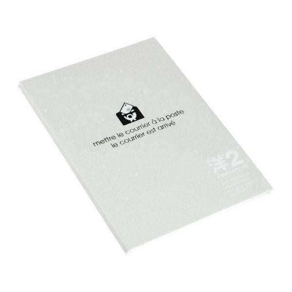 エトランジェ・ディ・コスタリカ 洋2封筒ワカクサ ENY2-E-02 1セット(100枚:10枚入り×10個) (直送品)