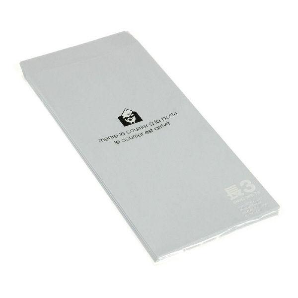 エトランジェ・ディ・コスタリカ 長3 封筒 [P] アジサイ ENT3-P-07 1セット(150枚:15枚入り×10個) (直送品)