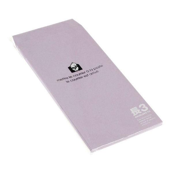エトランジェ・ディ・コスタリカ 長3封筒[P]リンドウ ENT3-P-11 1セット(150枚:15枚入り×10個) (直送品)