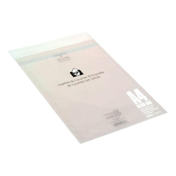 エトランジェ・ディ・コスタリカ クリアバッグ[BASIS]A4 クリア OPP-A4-01 1セット(10枚入×10) (直送品)