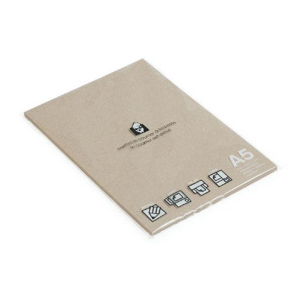 エトランジェ・ディ・コスタリカ A5ペーパー50クラフト PRNA5ーAー01 10冊 (直送品)