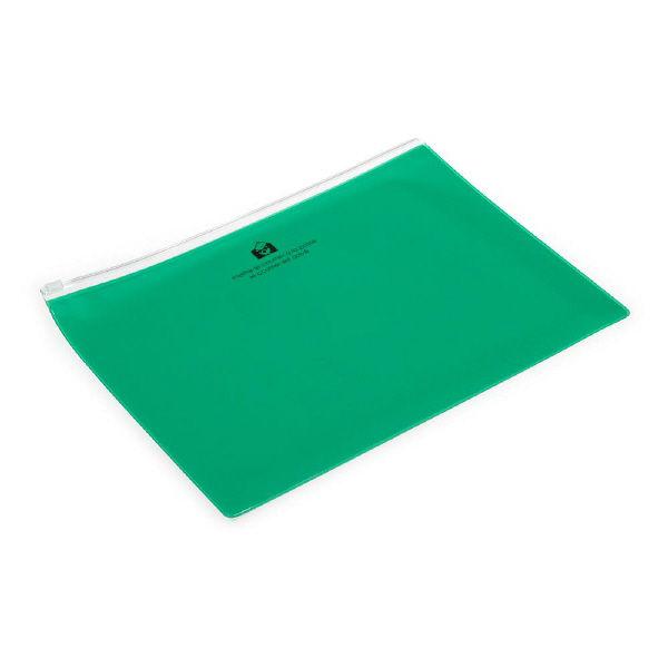 エトランジェ・ディ・コスタリカ ジッパーポケットB5[TRP]グリーン ZIPーB5ー67 5冊 (直送品)