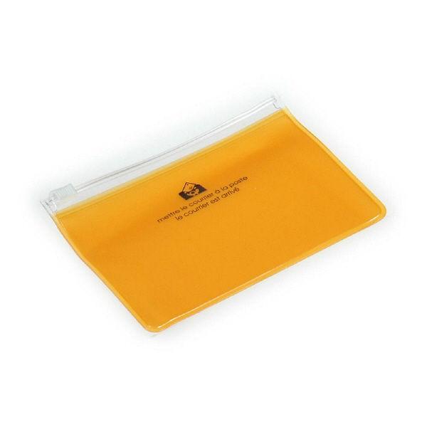 エトランジェ・ディ・コスタリカ ジッパーポケットカード[TRP]イエロー ZIPーBCー65 10個 (直送品)
