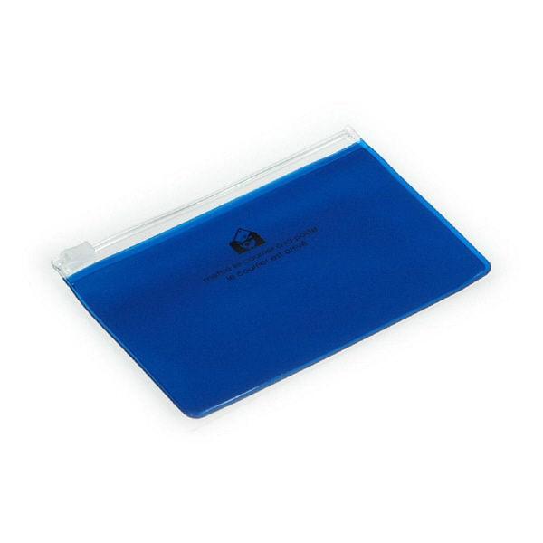 エトランジェ・ディ・コスタリカ ジッパーポケットカード[TRP]ブルー ZIPーBCー69 10個 (直送品)