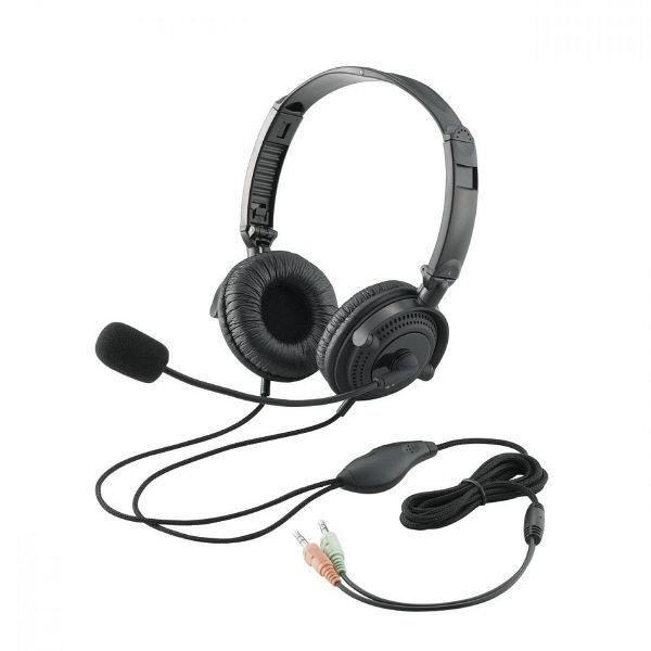 エレコム ヘッドセット(両耳オーバーヘッド) HS-HP20BK (直送品)