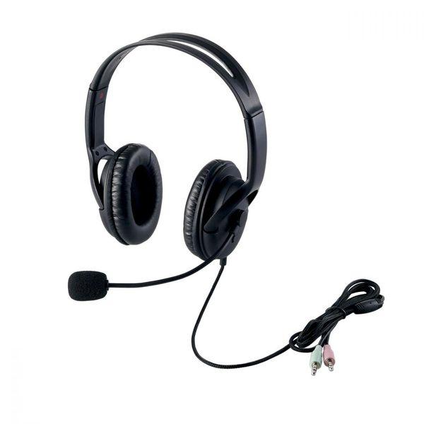 エレコム ヘッドセット(両耳大型オーバーヘッドタイプ) HS-HP28BK (直送品)