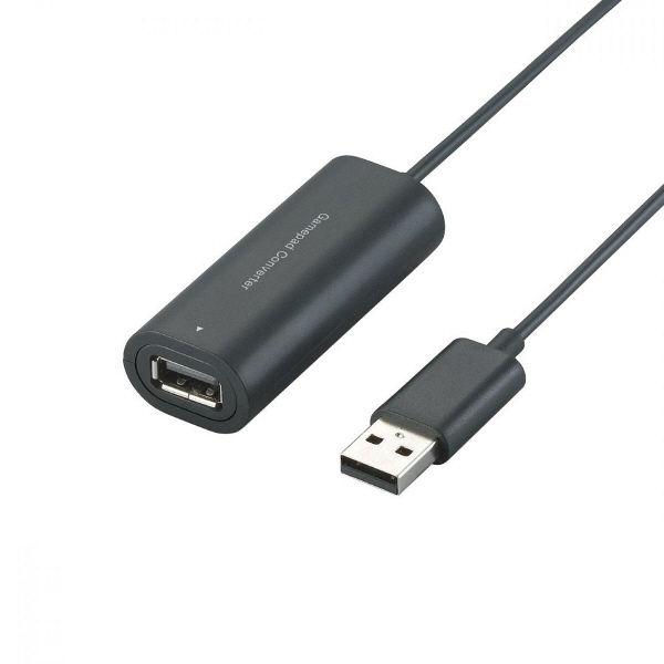 エレコム PS3ゲームパッドコンバータ 1ポート ブラック JC-P301UBK (直送品)