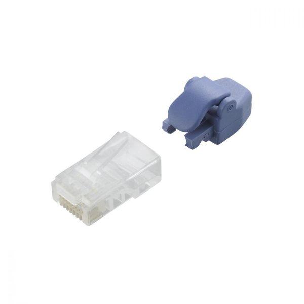エレコム プロテクタ付きツメの折れないLANコネクタ(Cat5e) LD-RJ45T10/TP (直送品)