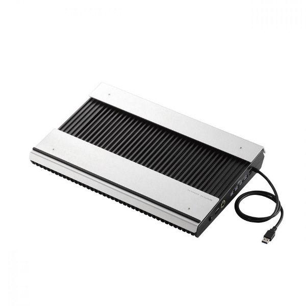 エレコム USB3.0ハブ付きノートPC用クーラー(高耐久性×極冷) SX-CL24LBK (直送品)