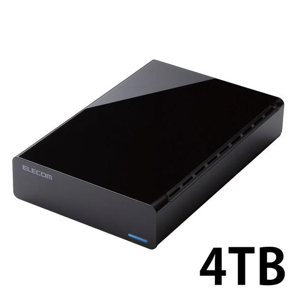 簡単接続の外付けHDD 4TB