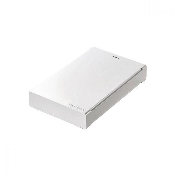 簡単接続のポータブルHDD 2TB