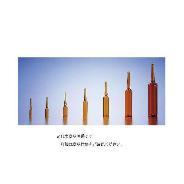 三商 アンプル(茶)1ml 85-1208 1箱(300本入) 24-2164-00(直送品)
